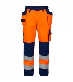 FE-Engel EN 20471 Buks M/Hængelomme Orange/Marine-20