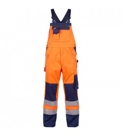 FE-Engel Safety+ Overall EN 20471 Orange/Marine-20