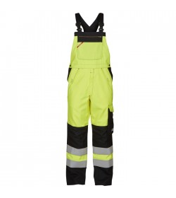 FE-Engel Safety+Lysbue Overall EN 20471 Gul/Sort-20