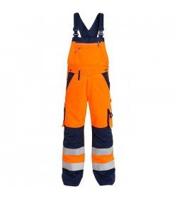 FE-Engel EN 20471 Overall Orange/Marine-20
