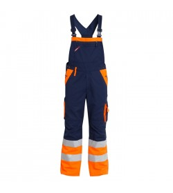 FE-Engel EN 20471 Overall Marine/Orange-20