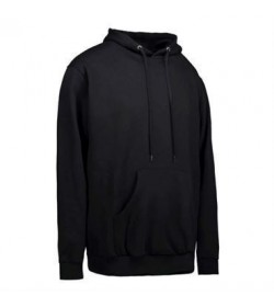 ID Sweatshirt med hætte børn 40610 sort-20