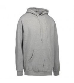 ID Sweatshirt med hætte børn 40610 grå melange-20