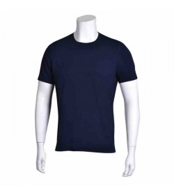 by Mikkelsen bambus t-shirt navy-20