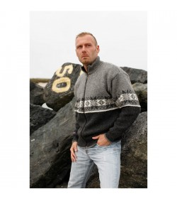 WOOL of Scandinavia strik cardigan-20