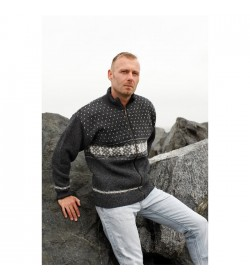 WOOL of Scandinavia windstopper cardigan-20