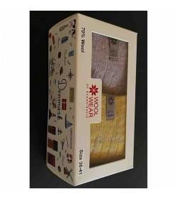 WOOL of Scandinavia ragsokker 2-pak giftbox-20