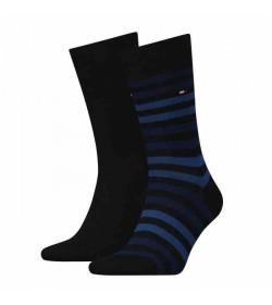 Tommy Hilfiger 2-pak strømper blue stripe / navy-20