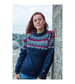 WOOL of Scandinavia norsk sweater-20