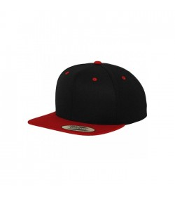 Flexfit snapback black red-20