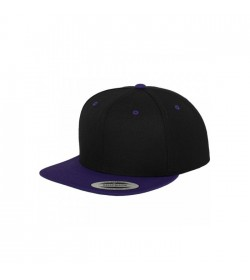 Flexfit snapback black purple-20