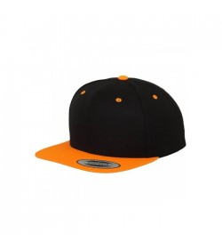 Flexfit snapback black orange-20