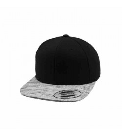 Flexfit snapback black grey melange-20