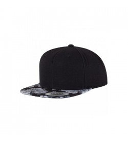 Flexfit snapback black grey rose-20