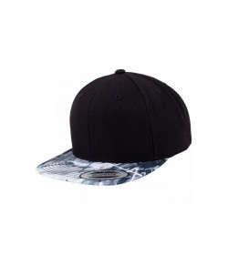 Flexfit snapback black grey oil-20