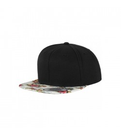Flexfit snapback black mint floral-20