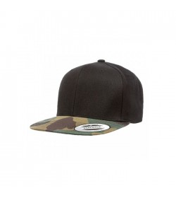 Flexfit snapback black green camo-20