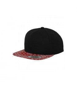 Flexfit snapback black red BD-20