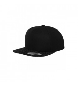 Flexfit snapback black black leo-20