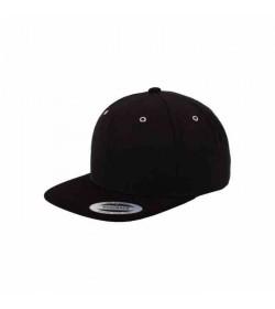 Flexfit snapback black black suede-20