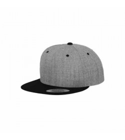 Flexfit børne snapback Light Grey/Black-20