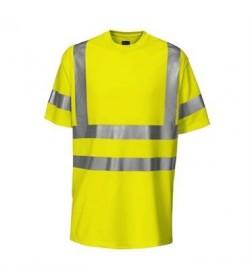 ProJob 6010 sikkerhedst-shirt EN ISO 20471-Klasse 3 gul/navy-20