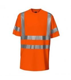ProJob 6010 sikkerhedst-shirt EN ISO 20471-Klasse 3 orange-20