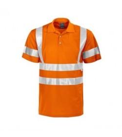 ProJob 6011 sikkerhedspolo EN ISO 20471-Klasse 3 orange-20