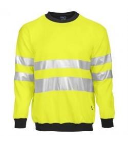 ProJob 6101 sikkerhedstrøje EN ISO 20471-Klasse 3 gul/sort-20