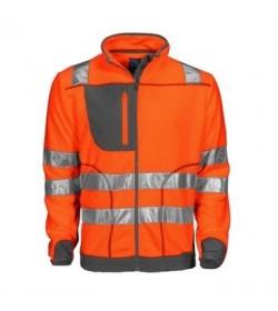 ProJob 6303 sikkerhedsjakke EN ISO 20471-Klasse 3/2 orange/grå-20