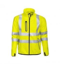 ProJob 6412 sikkerhedsjakke EN ISO 20471-Klasse 3 gul/sort-20