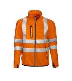 ProJob 6412 sikkerhedsjakke EN ISO 20471-Klasse 3 orange/sort-20