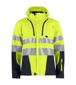 ProJob 6419 sikkerhedsjakke EN ISO 20471-Klasse 3/2 gul/sort-20