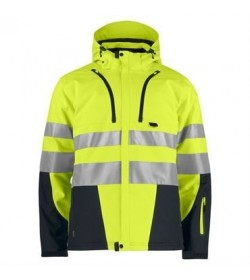 ProJob 6420 sikkerhedsjakke EN ISO 20471-Klasse 3/2 gul/sort-20