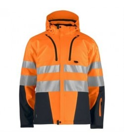 ProJob 6420 sikkerhedsjakke EN ISO 20471-Klasse 3/2 orange/sort-XS-20