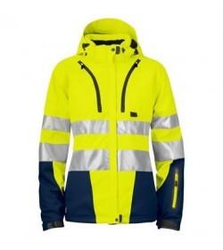 ProJob 6424 kvindesikkerhedsjakke EN ISO 20471-Klasse 2/3 gul/navy-20