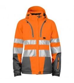 ProJob 6424 kvindesikkerhedsjakke EN ISO 20471-Klasse 2/3 orange/grå-20