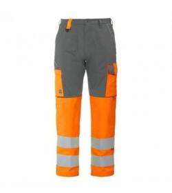 ProJob 6501 sikkerhedsbuks EN ISO 20471-Klasse 2 orange/grå-20