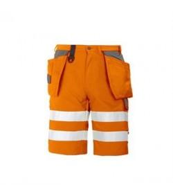ProJob 6503 sikkerhedsshorts EN ISO 20471-Klasse 1/2 orange-20
