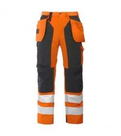 ProJob 6506 sikkerhedsbuks EN ISO 20471-Klasse 2 orange/sort-20
