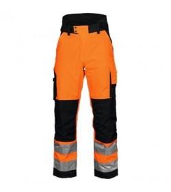 ProJob 6514 sikkerhedsbuks EN ISO 20471-Klasse 1 orange/sort-20