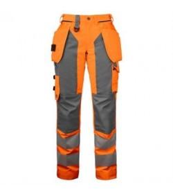 ProJob 6519 sikkerhedsbuks kvinde EN ISO 20471-Klasse 2 orange-20