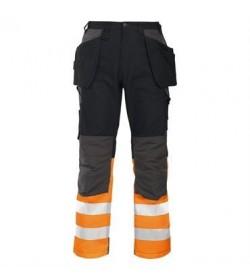 ProJob 6522 sikkerhedsbuks EN ISO 20471-Klasse 1 orange/sort-20