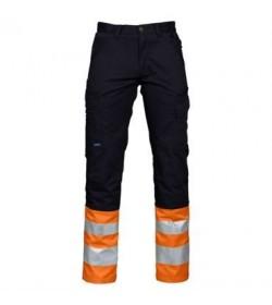 ProJob 6523 sikkerhedsbuks EN ISO 20471-Klasse 1 orange/sort-20