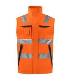 ProJob 6711 sikkerhedsvest EN ISO 20471-Klasse 2 orange-20