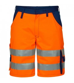 FE-Engel EN 20471 Shorts Orange/Marine-20
