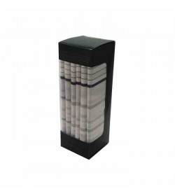Phillipsons 6-pak lommetørklæder mønstret lyse-20