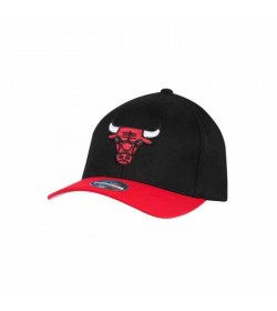Mitchell and Ness Caps 285 BULLS Black Red-20