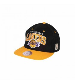 MitchellNesssnapback226LAKERSBlackYellow-20