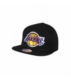 Mitchell and Ness snapback 405 LAKERS Black-20